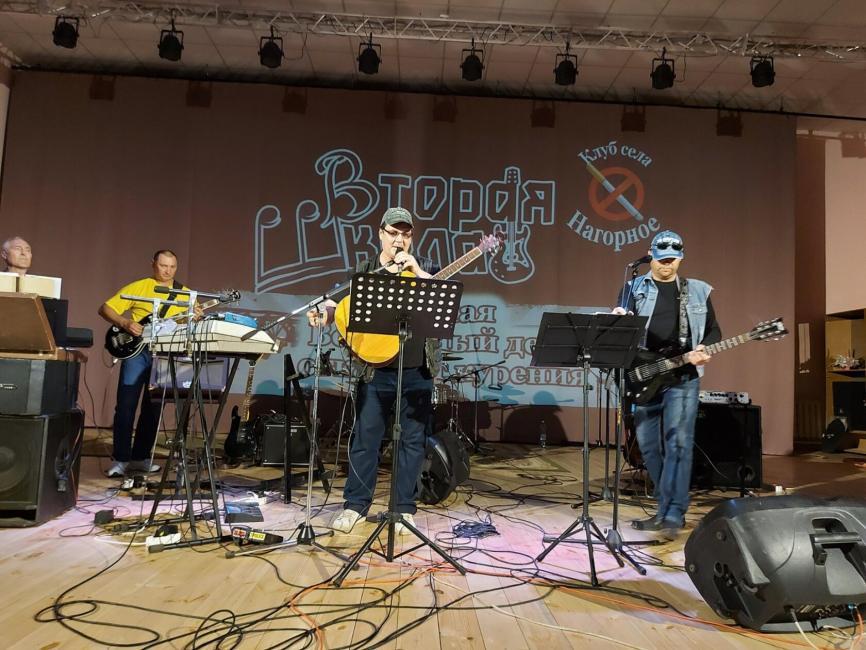 «Не кури, брат»: рок-концерт в поддержку здорового образа жизни прошел в Октябрьском КДЦ