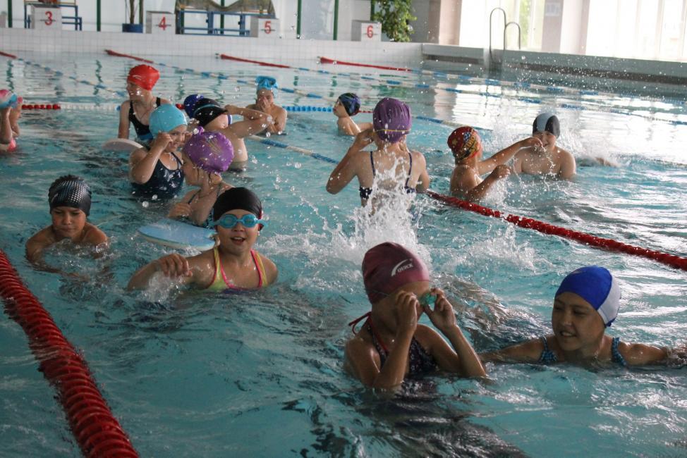 Куйбышевские школьники во время каникул будут посещать бассейн