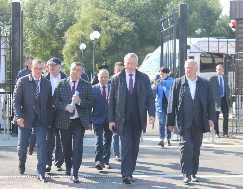 Андрей Травников: Куйбышев стабильно развивается