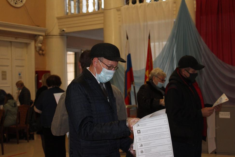 В Куйбышевском районе голосование началось в штатном режиме